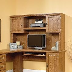 Orchard Hills 36.1″ H x 57.88″ W Desk Hutch at http://suliaszone.com/orchard-hills-36-1-h-x-57-88-w-desk-hutch/