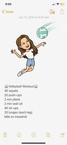 My volleyball workout ?You can find Volleyball workouts and more on our website.My volleyball workout ? Volleyball Tryouts, Volleyball Skills, Volleyball Practice, Volleyball Training, Volleyball Quotes, Volleyball Pictures, Volleyball Outfits, Coaching Volleyball, Summer Body Workouts
