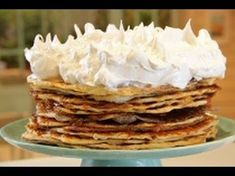 Receta: Maru Botana -Siempre dulce - Rogel- El Gourmet Candy Recipes, Sweet Recipes, Cookie Recipes, Dessert Recipes, Desserts, Argentina Food, Argentine, Sweet Pastries, Bread Cake