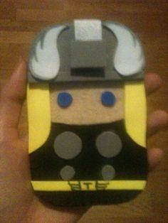 Thor funda móvil goma eva/Thor mobile case foam rubber