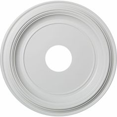 Ekena Millwork in. P X 16 in. OD X in. ID Traditional Thermoformed PVC Ceiling Medallion (Fits Canopies up to 9 - The Home Depot Ceiling Decor, Ceiling Lights, Classic Ceiling, Panel Moulding, Moldings, Art Deco, Inviting Home, Raised Panel, Ceiling Medallions