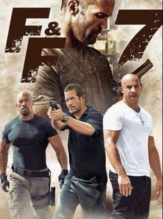 One for the road ,,,,have to see this for Jason Statham and Paul Walker ..then no more FF films for me ...RIP PAUL