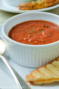 Creamy Tomato Soup - Mother Thyme