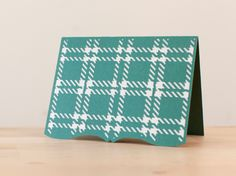 Plaid Card. Make It Now with the Cricut Explore in Cricut Design Space