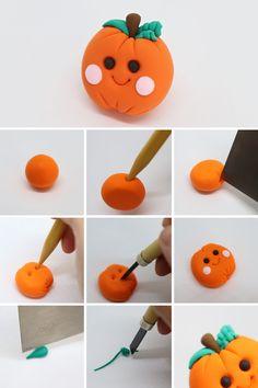 Easy Polymer Clay, Diy Fimo, Polymer Clay Kawaii, Diy Clay, Clay Crafts, Arts And Crafts, Fondant, Kawaii Crafts, Cool Paper Crafts