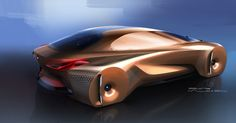 In Munich today, BMW unveiled their first concept car of the year - BMW VISION NEXT 100 - A new futuristic concept