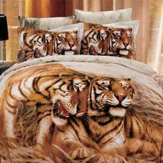 Tiger comforter