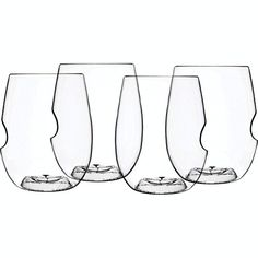 Govino Dishwasher Safe Flexible Shatterproof Recyclable Wine Glasses 16ounce Set of 4 -- You can get more details by clicking on the image.