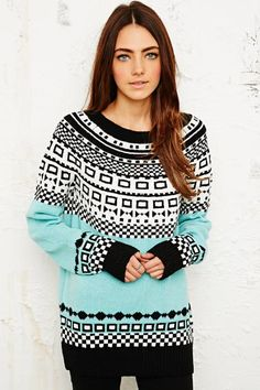 Cooperative Fair Isle Sweater bei Urban Outfitters