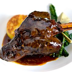 amazing add mush but perf**** This could be the best braised lamb shank recipe on planet earth, and beyond. Meat Recipes, Slow Cooker Recipes, Cooking Recipes, Sauce Recipes, Best Lamb Recipes, Ground Lamb Recipes, Recipies, Braised Lamb Shanks, Mint Sauce