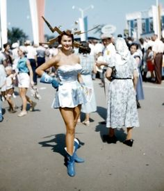Tomorrowland in yesteryear
