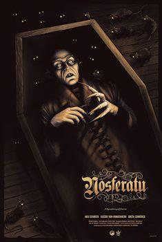 Sara Deck Nosferatu Monster-Mania Exclusive Poster Release from Grey Matter Art Horror Movie Posters, Cinema Posters, Horror Show, Horror Art, Vampires, 8k Tv, Thriller, Tv Movie, Dramas