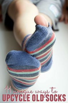 Do you have old socks lying around your house and don't know what to do with them? Check out this list of 11 unique ways to upcycle old socks.