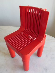 rare early Marco Zanuso KARTELL K4999 CHILDS CHAIR mod space age panton eames