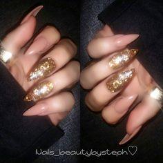 Glitter glass for my boo ✨ #nailedit #209nails #glitterglass