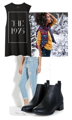 """""""The 1975"""" by jj-dancer ❤ liked on Polyvore featuring Forever 21, American Eagle Outfitters, women's clothing, women, female, woman, misses and juniors"""