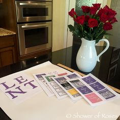 Shower of Roses: A Lenten Calendar for Catholic Children {revised}