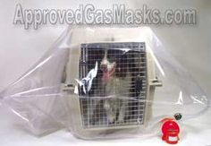 PET SAFE Pet Enclosure - Pet Safe provides an excellent protection shield for dogs, cats or other animals against NBC weapons using the same principal as a gas mask or protective enclosure.