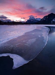 Vermillion Lakes, Banff by miranda