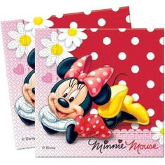 Minnie Mouse Polka Dots Party Servietten (Packung mit 20) von Party2u, http://www.amazon.de/dp/B008Y0IAB4/ref=cm_sw_r_pi_dp_y2s1sb1ZM9803