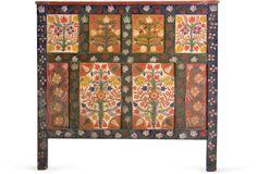 Romanian Folk Art Headboard I