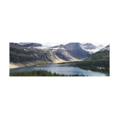 Hidden Lake Overlook Glacier National Park Montana Canvas Print