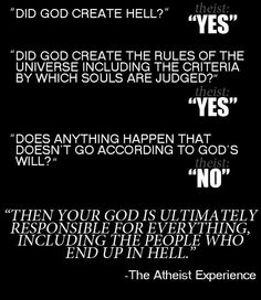 Too linear. Christians never get this.