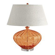 Lamp Works Melon Table Lamp in Orange