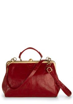 Believe It or Garnet Bag, #ModCloth I want this now! $57