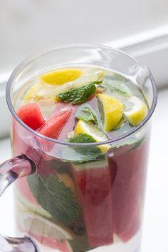 Daily refreshing detox drink