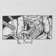 "12.6k Likes, 35 Comments - Matt Bailey (@baileyillustration) on Instagram: ""The Beast."""