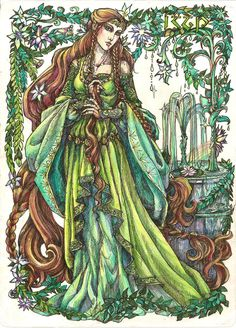 Star flower by Righon on deviantART Eldalótë Noldorin lady - The wife of Angrod and the mother of Orodreth.