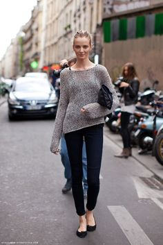 Open knit. Must have for Houston's (warm-ish) Fall.