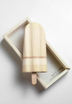 Wooden Popsicle by Johnny Hermann