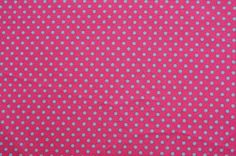 Notions Potions Quilt Patchwork One Yard Cotton Fabric Chic Scandinavian Small Polka Dot Pink Gray