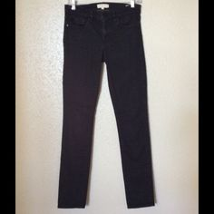 "Tory burch super skinny jeans Great black super skinny jeans sits on the hip long in great condition. Inseam 32"" Tory Burch Jeans Skinny"