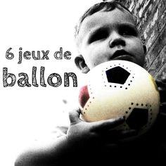 6 jeux de ballon que les enfants vont adorer !