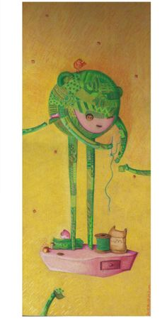 Isla6/Parches Patches, Islands, Wood, Illustrations, Colors