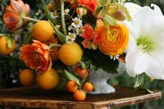 Design Inspration: Love the citrus accents. by Amy Merrick, via Flickr