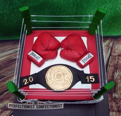 Joe - Boxing Ring Cake