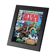Star Wars Comics Framed Genuine Postcard Deadly Reunion Chewbacca Gift Frame ** Details can be found by clicking on the image.