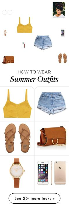 Summer Outfits : summer outfit #2 by synclairel on Polyvore featuring Levis Isa Arfen Billab
