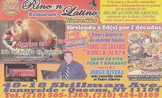 Dia de Accion de Gracias (ad from Queens, NY)