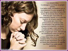 Oración para sanar de la AMARGURA | Oraciones. Intercesion de Alto Nivel.