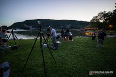 """Watching The Night Sky"" program at Devil's Lake State Park - www.devilslakewisconsin.com"