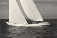 Sparkman  Stephens: Design 2270 - 12-Meter Racing Yacht - Enterprise