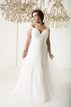 b600802b05f 10 Plus Size Dresses You Will Want To Get Married In This Year. Wedding ...