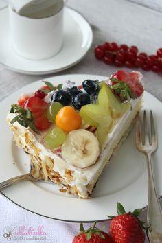 ullatrulla backt und bastelt: Obsttorte mit Joghurtcreme wie vom Konditor