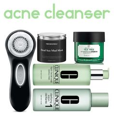 """Cleansers"" by lauralydix on Polyvore featuring beauty, Clarisonic and Clinique"