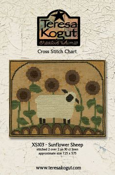 Your place to buy and sell all things handmade Sheep Cross Stitch, Cross Stitch Animals, Cross Stitching, Cross Stitch Embroidery, Dmc Floss, Christmas Embroidery, Sheep Wool, Sell On Etsy, Rug Hooking